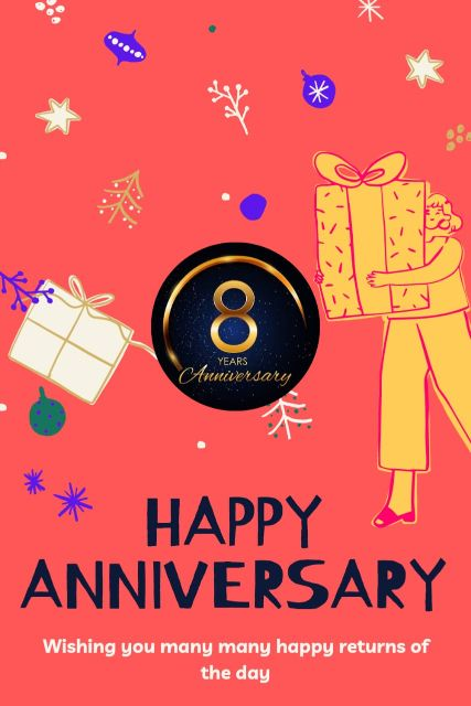 8th Wedding Anniversary Wishes Messages Quotes 6