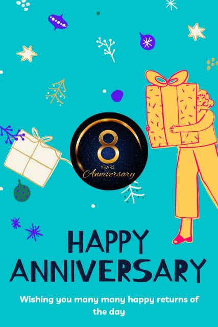 8th Wedding Anniversary Wishes Messages Quotes 7
