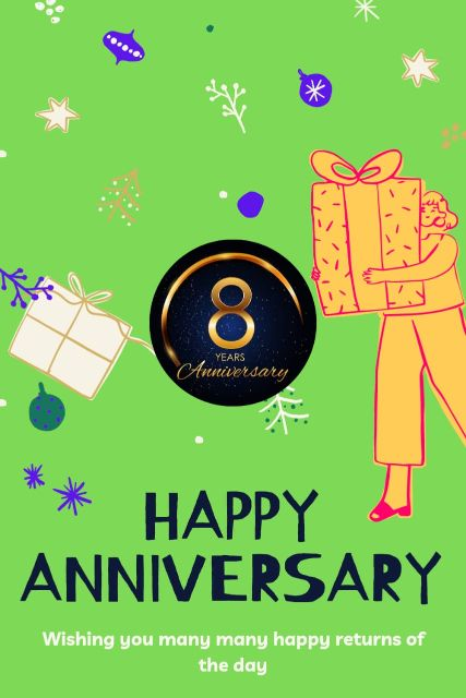 8th Wedding Anniversary Wishes Messages Quotes 8