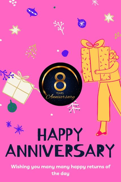 8th Wedding Anniversary Wishes Messages Quotes 9