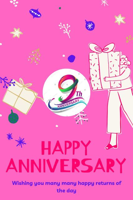 9th Wedding Anniversary Wishes Messages Quotes 1