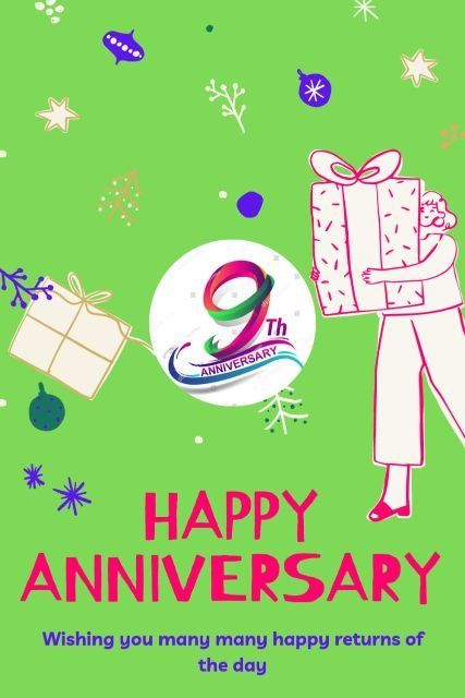 9th Wedding Anniversary Wishes Messages Quotes 2