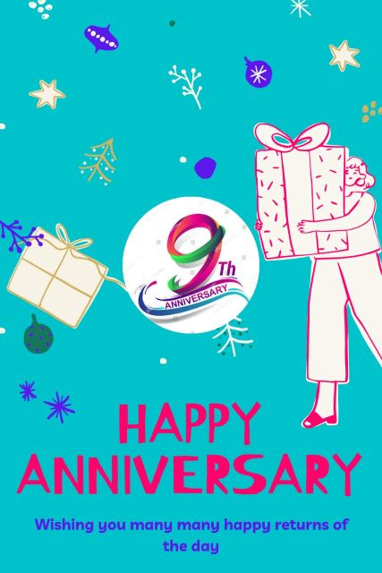 9th Wedding Anniversary Wishes Messages Quotes 3