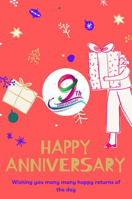 9th Wedding Anniversary Wishes Messages Quotes 4