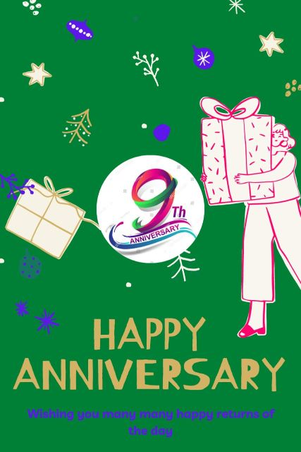 9th Wedding Anniversary Wishes Messages Quotes 5