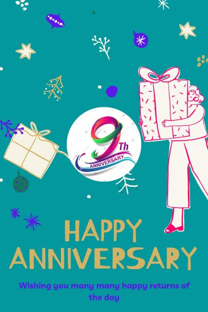 9th Wedding Anniversary Wishes Messages Quotes 6