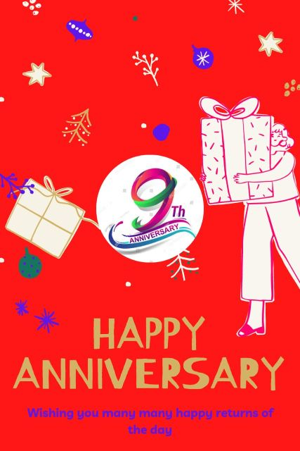 9th Wedding Anniversary Wishes Messages Quotes 7