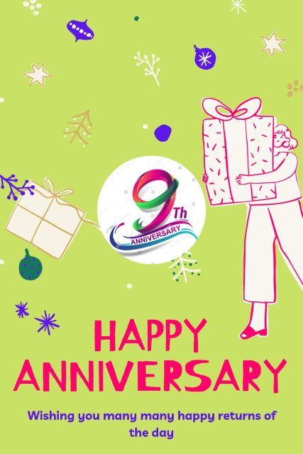 9th Wedding Anniversary Wishes Messages Quotes 8