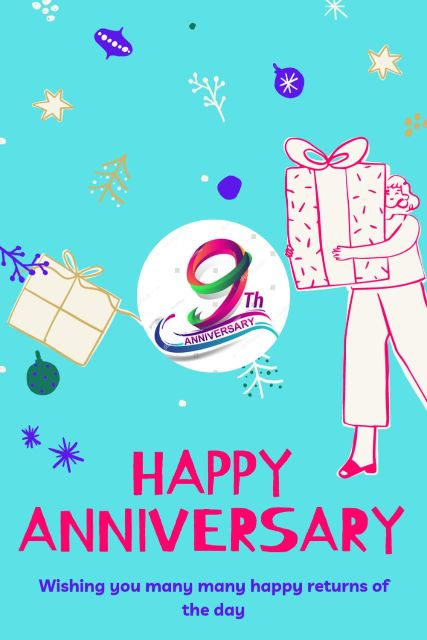 9th Wedding Anniversary Wishes Messages Quotes 9