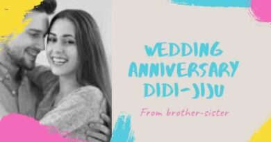 Happy Anniversary Didi and Jiju in Hindi