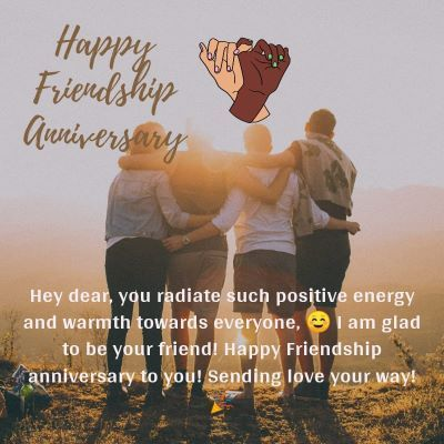 Happy Friendship Anniversary Wishes images 2-compressed