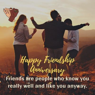 Happy Friendship Anniversary Wishes images 8-compressed