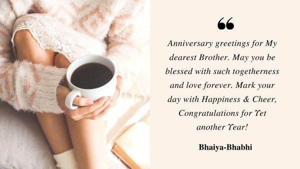 Happy wedding Anniversary Bhaiya and Bhabhi 3
