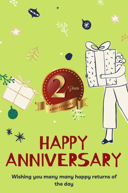 2nd Wedding Anniversary Wishes Messages Quotes 1