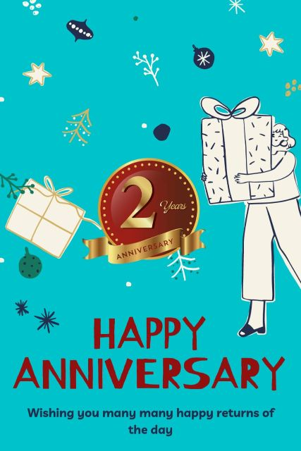 2nd Wedding Anniversary Wishes Messages Quotes 2