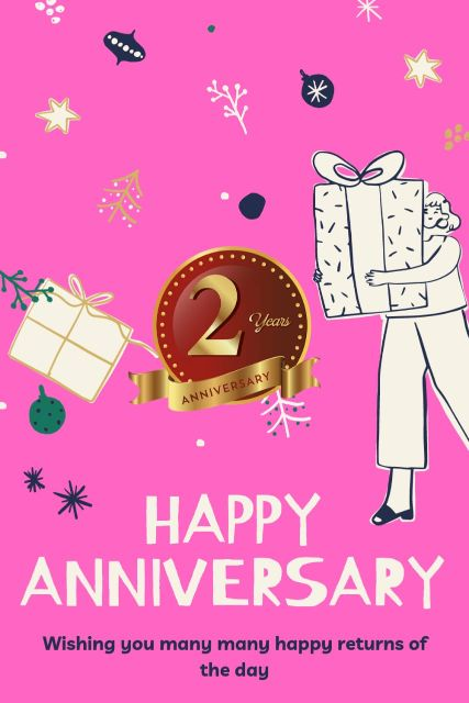 2nd Wedding Anniversary Wishes Messages Quotes 5