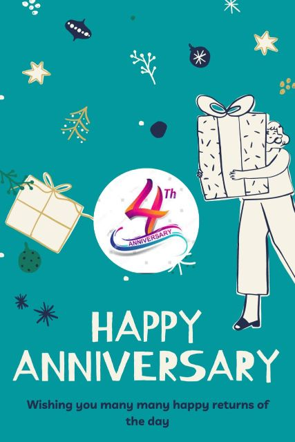 4th Wedding Anniversary Wishes Messages Quotes 10