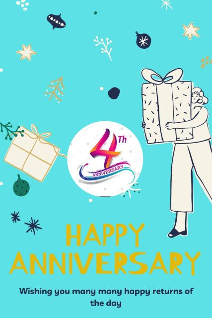 4th Wedding Anniversary Wishes Messages Quotes 2