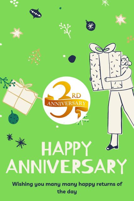 3rd Wedding Anniversary Wishes Messages Quotes 2