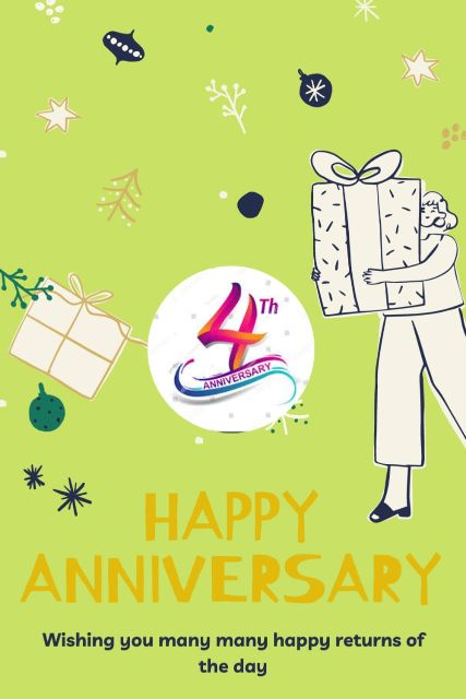 4th Wedding Anniversary Wishes Messages Quotes 3