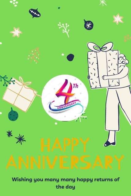 4th Wedding Anniversary Wishes Messages Quotes 4