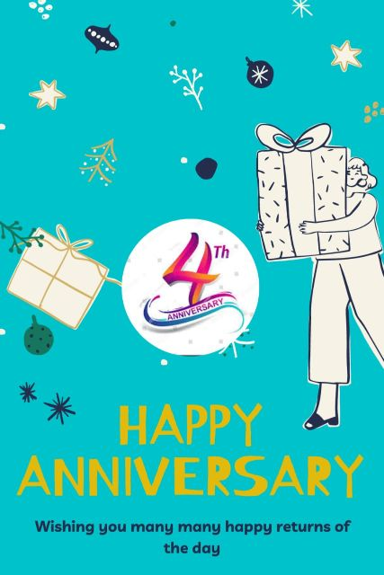 4th Wedding Anniversary Wishes Messages Quotes 5