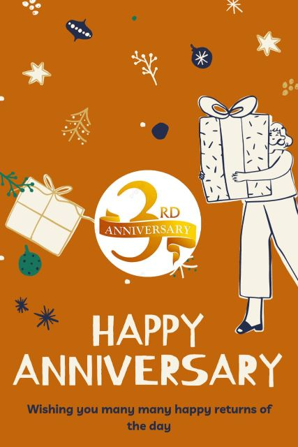 3rd Wedding Anniversary Wishes Messages Quotes 5