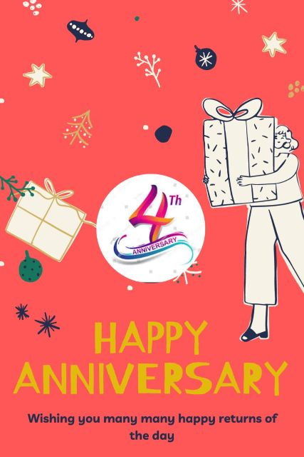 4th Wedding Anniversary Wishes Messages Quotes 6