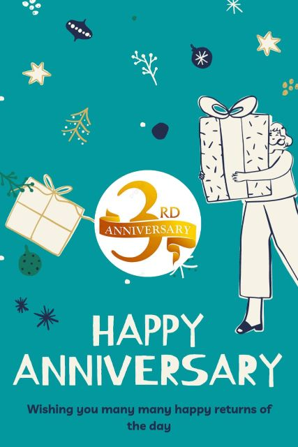 3rd Wedding Anniversary Wishes Messages Quotes 7