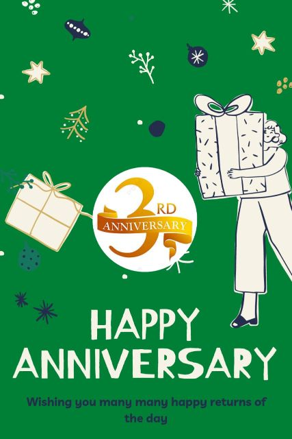3rd Wedding Anniversary Wishes Messages Quotes 8