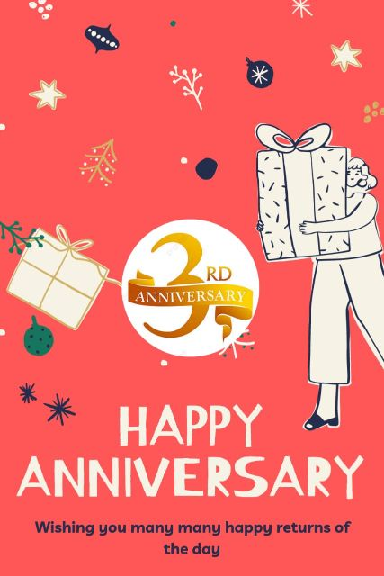 3rd Wedding Anniversary Wishes Messages Quotes 9