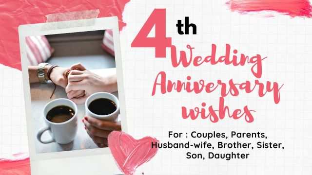 4th Wedding Anniversary Wishes-compressed