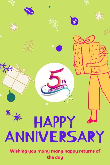 5th Wedding Anniversary Wishes Messages Quotes 2