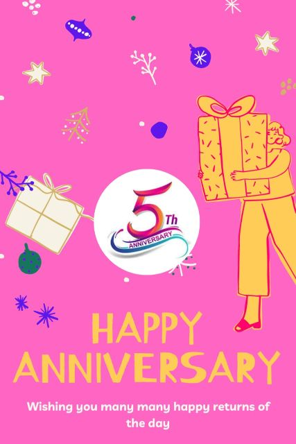 5th Wedding Anniversary Wishes Messages Quotes 4