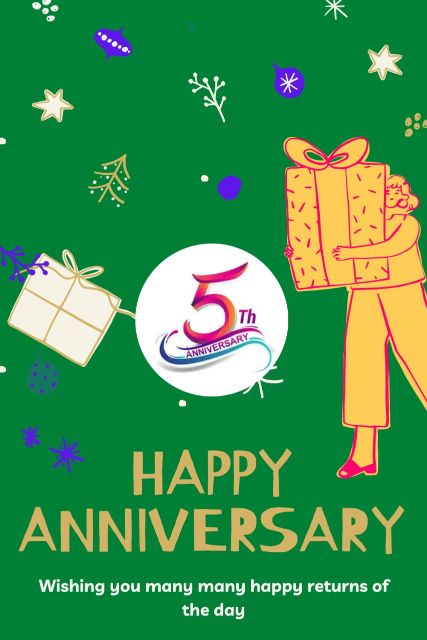 5th Wedding Anniversary Wishes Messages Quotes 8
