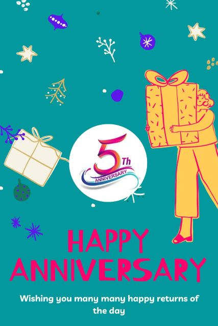5th Wedding Anniversary Wishes Messages Quotes 9
