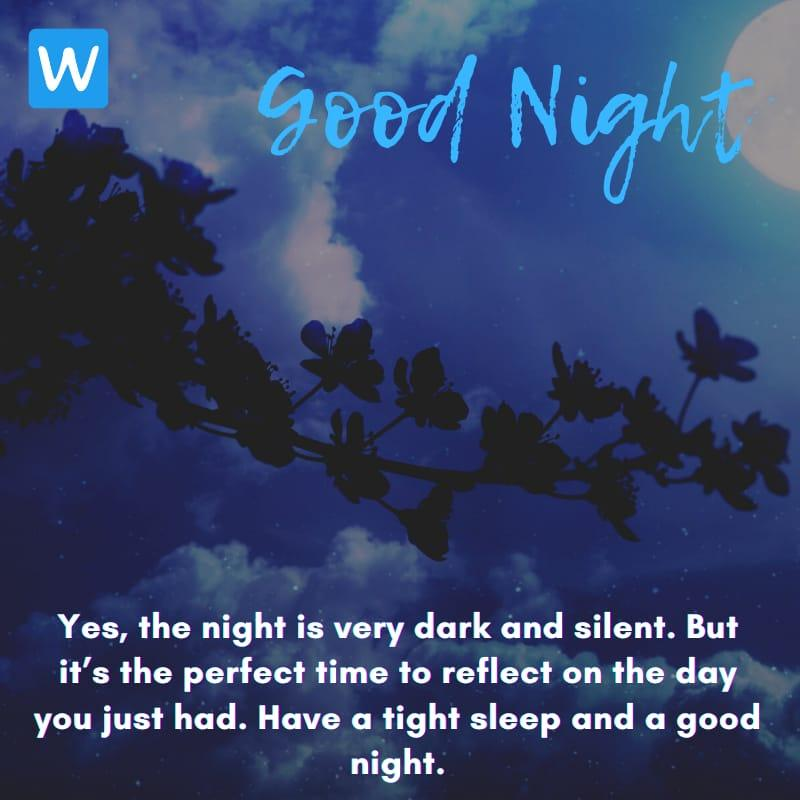 Good Night SMS Wishes Messages Images Pic in English 3-compressed