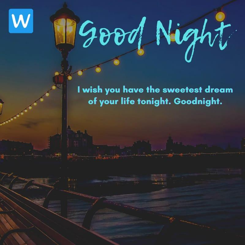 Good Night SMS Wishes Messages Images Pic in English 5-compressed