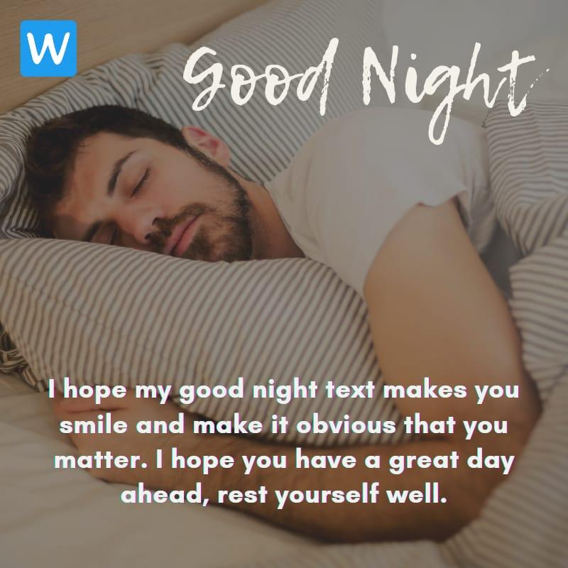 Good Night SMS Wishes Messages Images Pic in English 9-compressed
