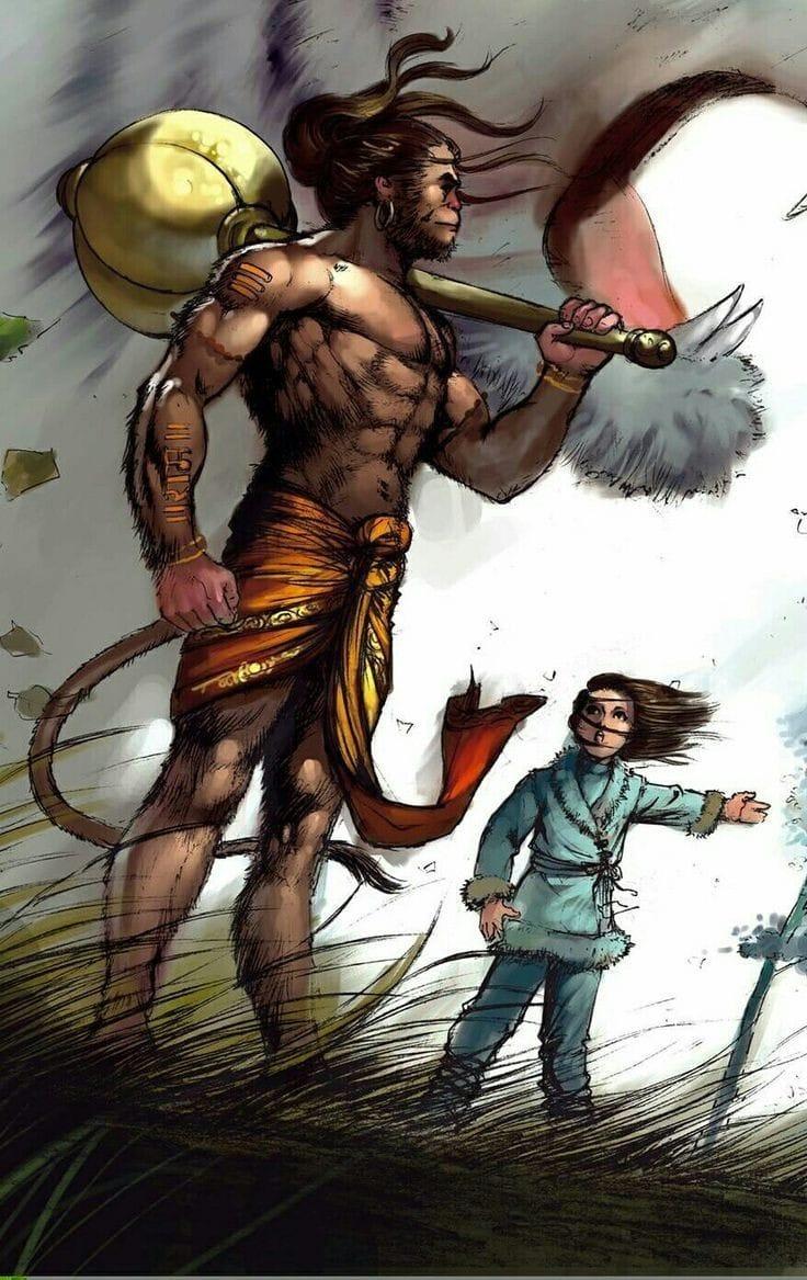 Hanuman Images DP Status for WhatsApp Facebook 14