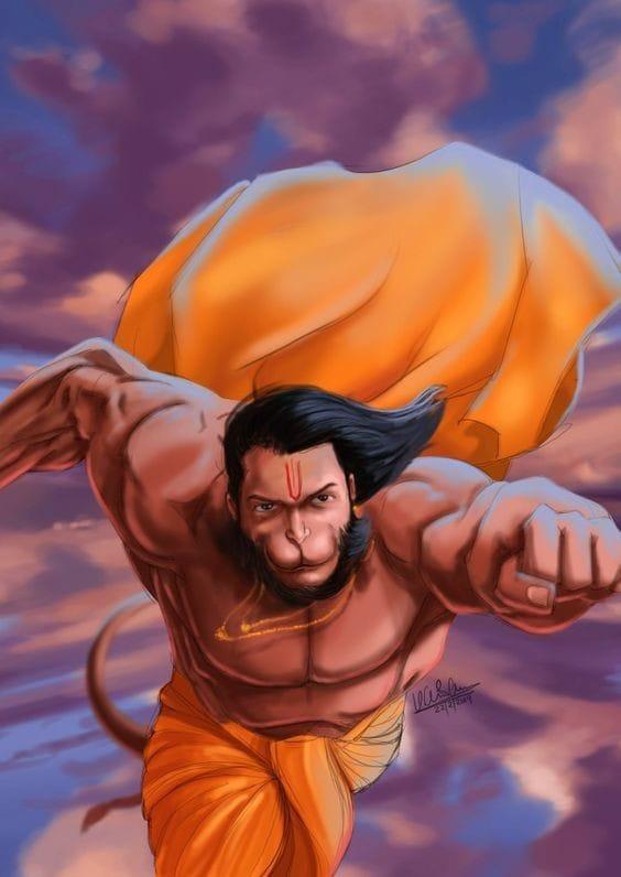 Hanuman Images DP Status for WhatsApp Facebook 17