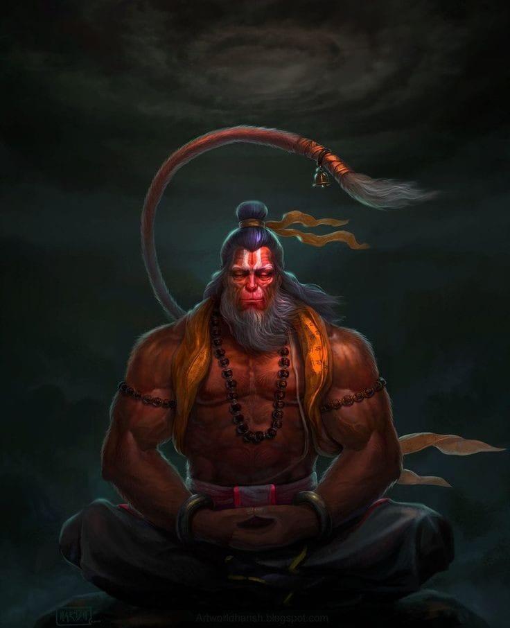 Hanuman Images DP Status for WhatsApp Facebook 21