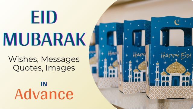 Happy Eid Mubarak Wishes Messages with Images