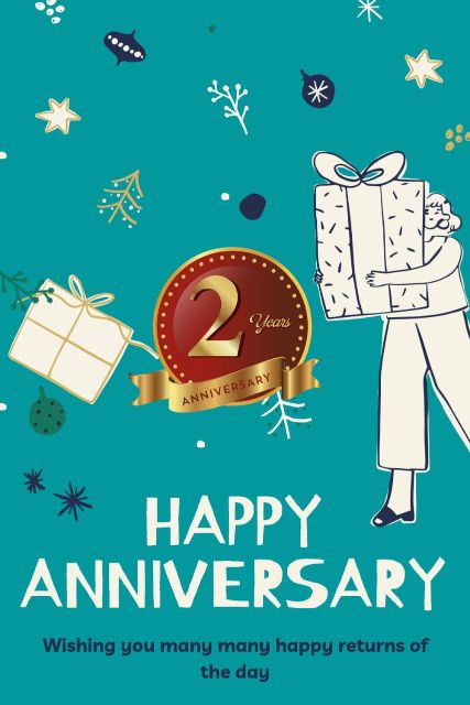 2nd Wedding Anniversary Wishes Messages Quotes 7