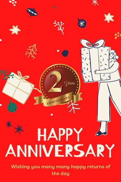 2nd Wedding Anniversary Wishes Messages Quotes 8