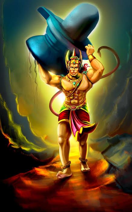 Mahabali Hanuman Images DP Status for WhatsApp Facebook 26