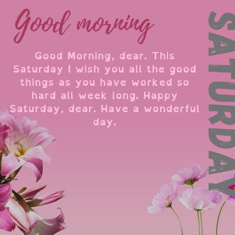Saturday blessings Images and Quotes 9