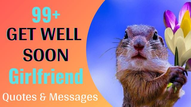 Get Well Soon Wishes Message For Girlfriend with Images