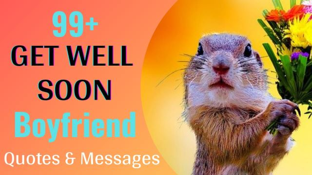 Get Well Soon Wishes Messages For Boyfriend