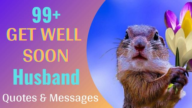 Get Well Soon Wishes Messages for Husband with Images